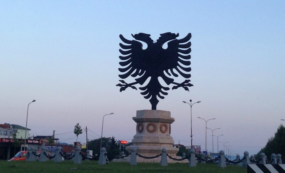 Albanian Legend Double-headed Eagle. What to know about Albania