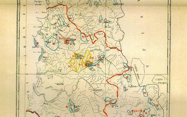 Albania Cartina Geografica.Mario Michelangeli Il Problema Forestale Albanese