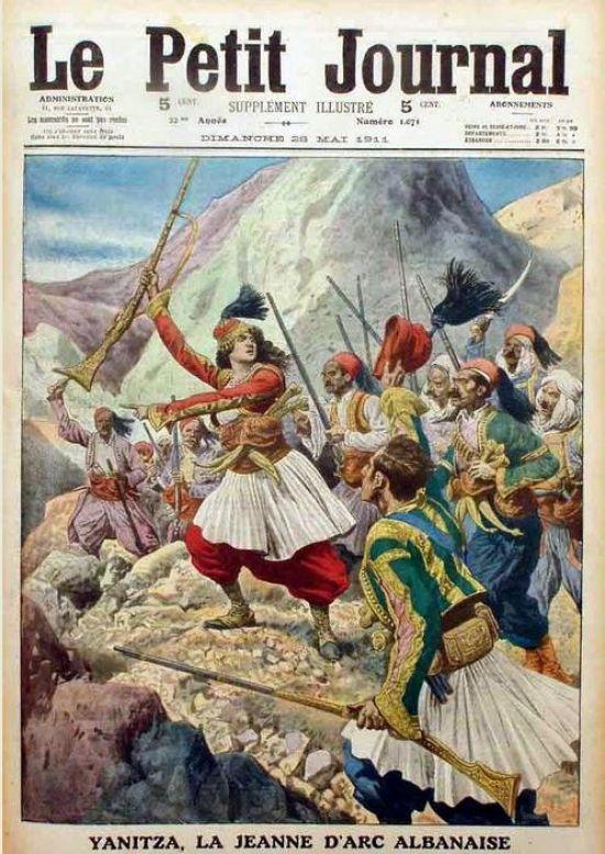 New York Times, 9 May 1911 - Albanian Joan of Arc