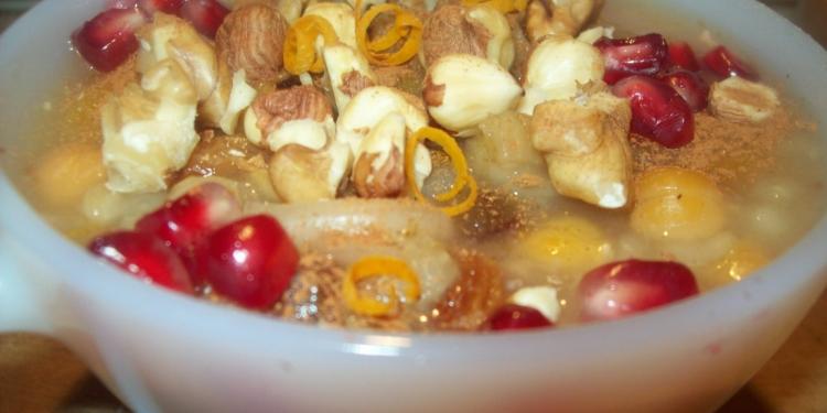Ashure: il budino senza latte e uova