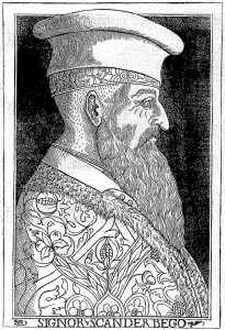 Portrait of Skanderbeg