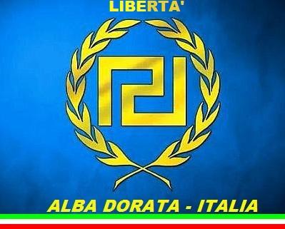 Rappresentante della Alba Dorata Italiana, Alessandro Gardossi