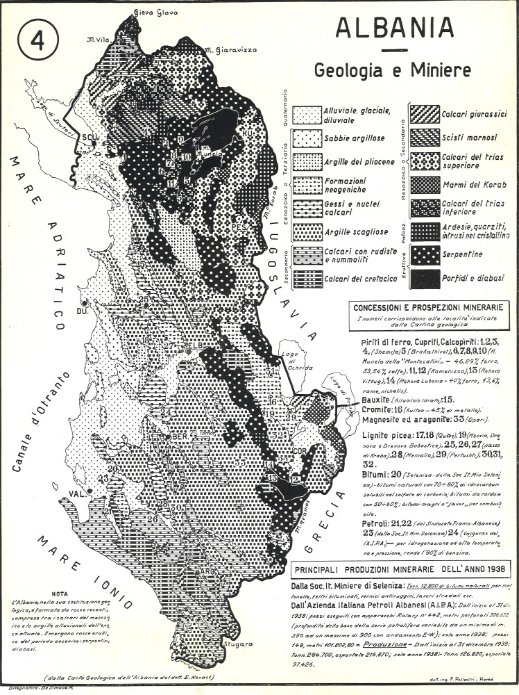 4: Albania - Geologia e Miniere