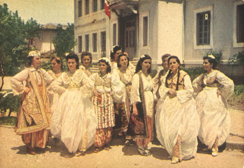 Albania Centrale - costumi
