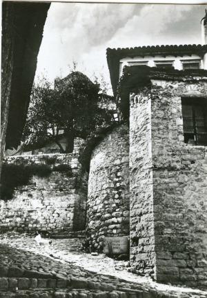 Berat - corner of a street