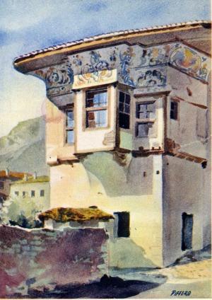 Kruja - Typical house