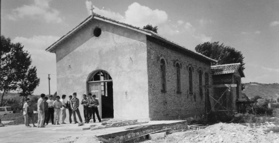 Murqine - La Seconda Chiesa ricostruita quasi al termine dei lavori