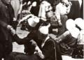 IL BAZAR DI TIRANA NEL 1940 IN UNA FOTO EDITA DA DISTAPTUR FONDO TAGLIARINI