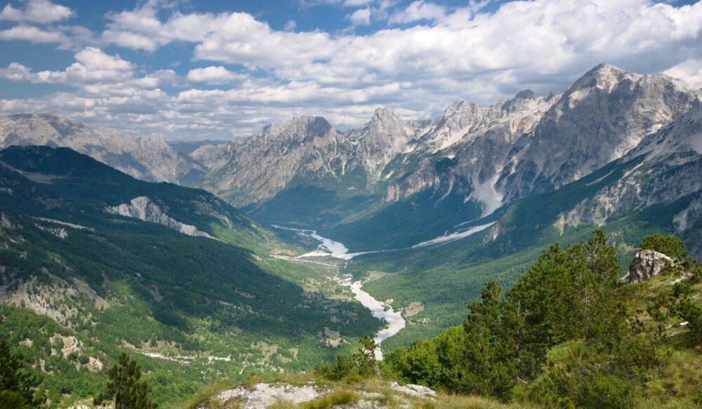 Le Alpi albanesi, Valle Di Valbona