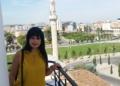 Adela Kolea Sulla Torre Di Orologio