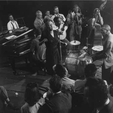 Jam Session In Milli's New York Studio, With Billie Holiday