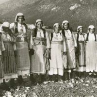 Donne Rurali Lago di Pogradec, Costumi di Peshtan
