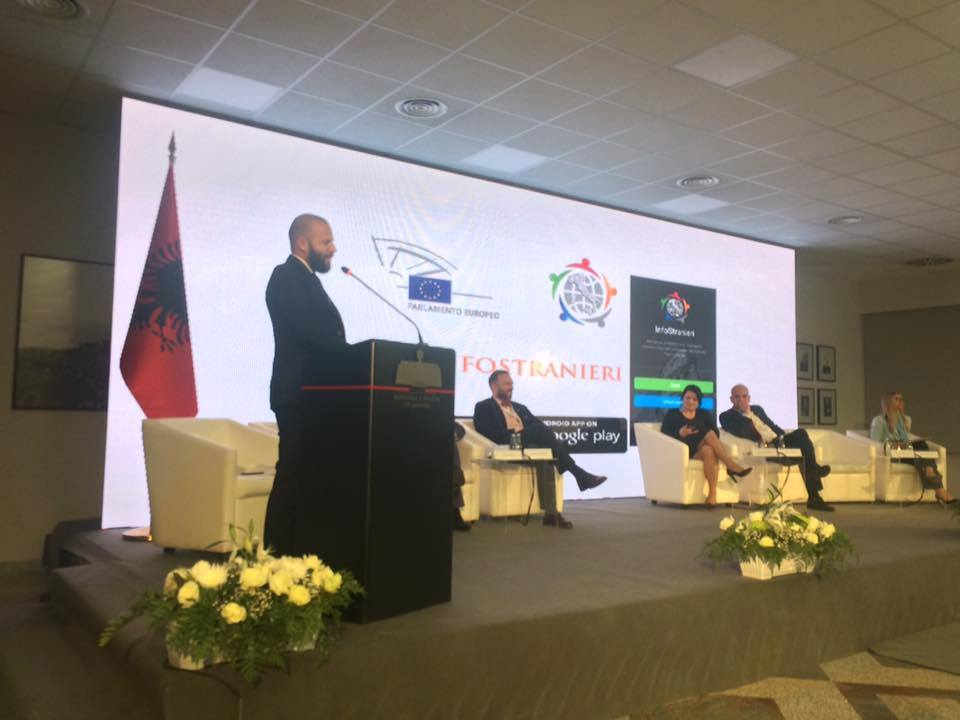 Presenting InfoStranieri Bashkim Sejdiu