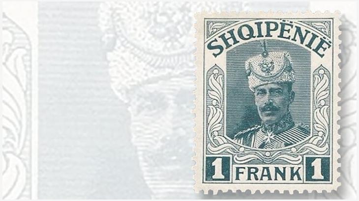 Un francobollo inedito dedicato al Principe Vidi I preparato nel 1914 ma mai emesso