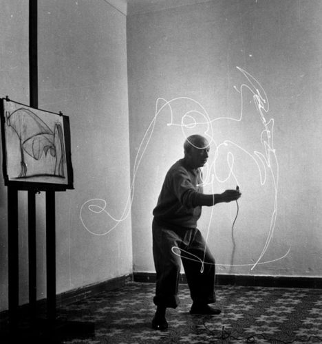 Gjon Mili Pablo Picasso 24