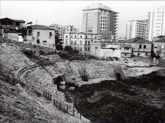 L'anfiteatro romano di Durazzo