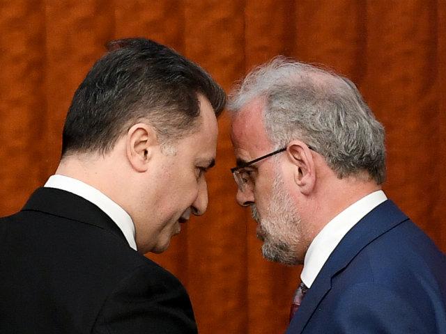 Nicola Gruevski, Talat Xhaferi