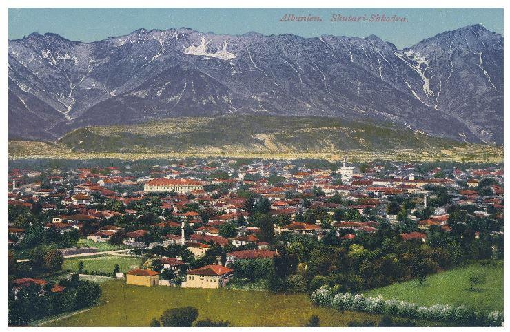 Panorama of Scutari Albania Antonio Baldacci Panorama