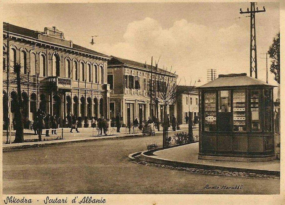 Scutari Albania Grand Caffe Antonio Baldaci