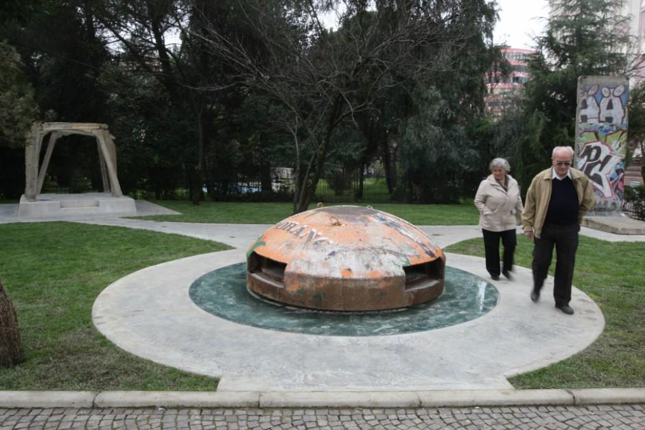 Memoriale per ex prigionieri politici a Tirana, 2013