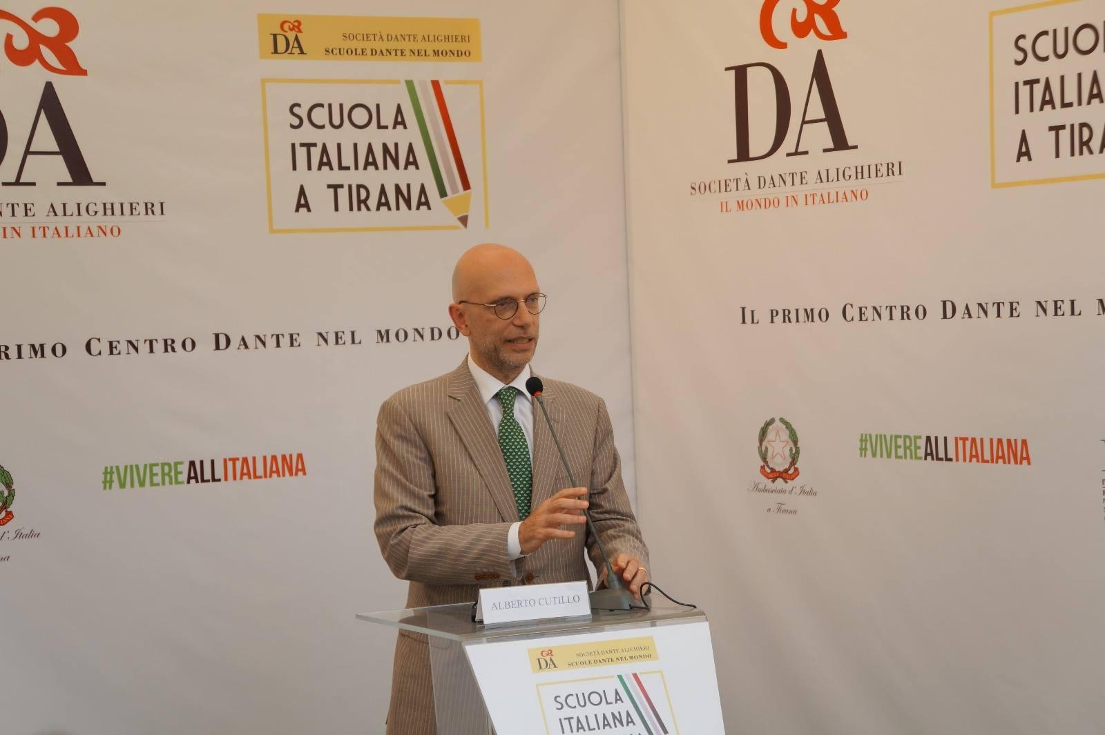 Ambasciatore italiano a Tirana Alberto Cutillo