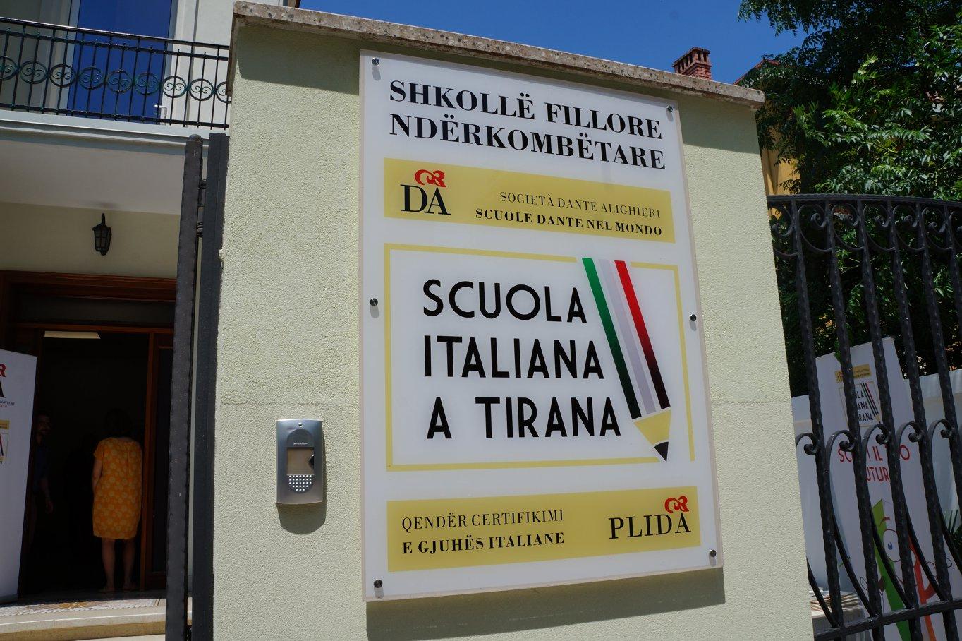 Società Dante Alighieri a Tirana