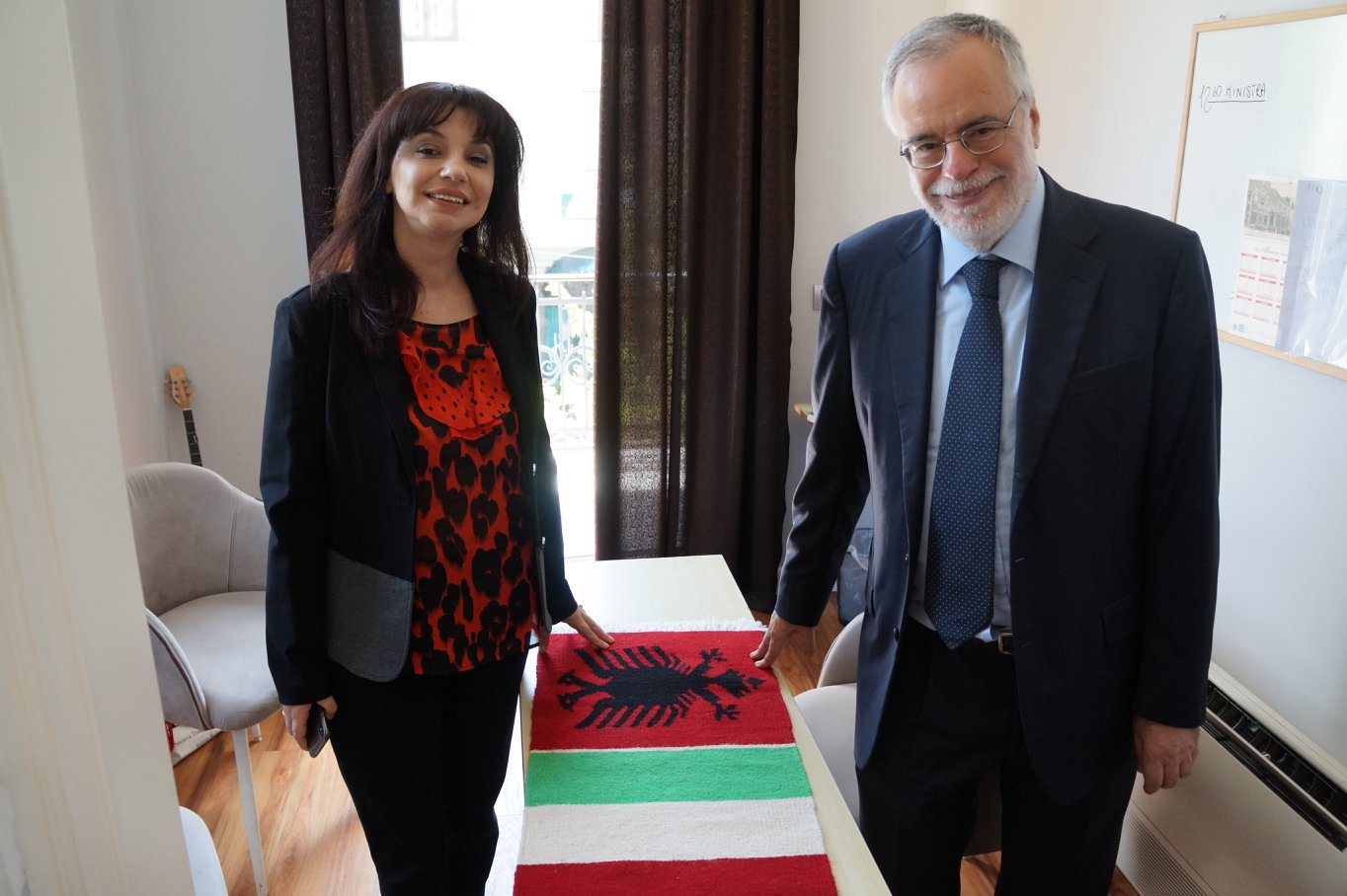Sonila Qato, Andrea Riccardi