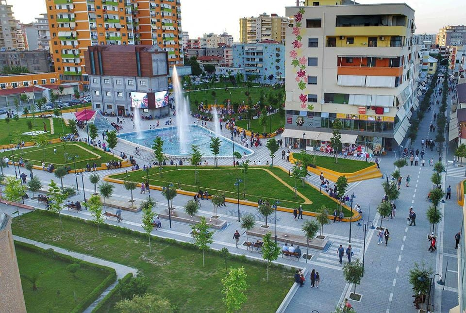 Centro di Fier, Albania