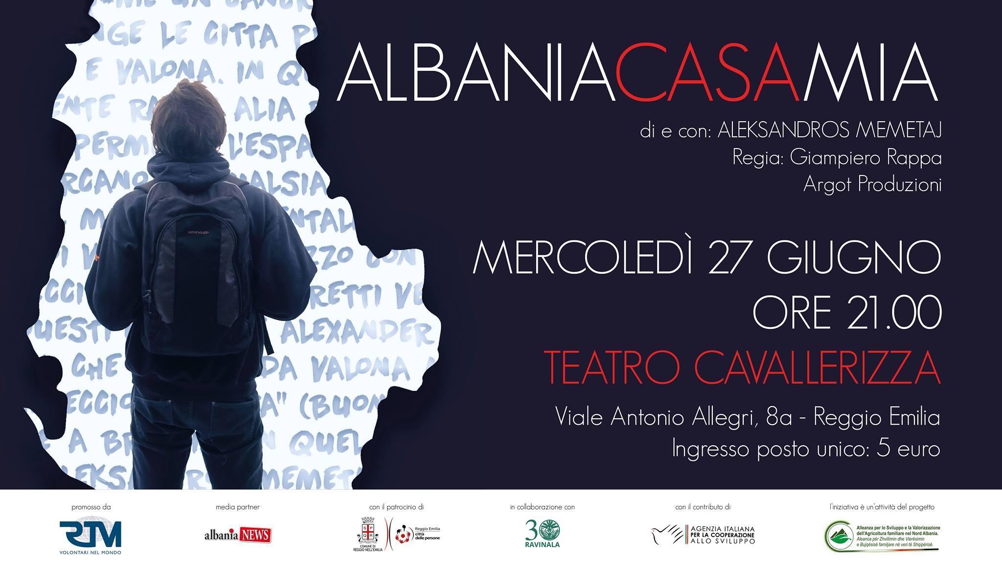 Albania casa mia di Aleksandros Memetaj a Reggio Emilia