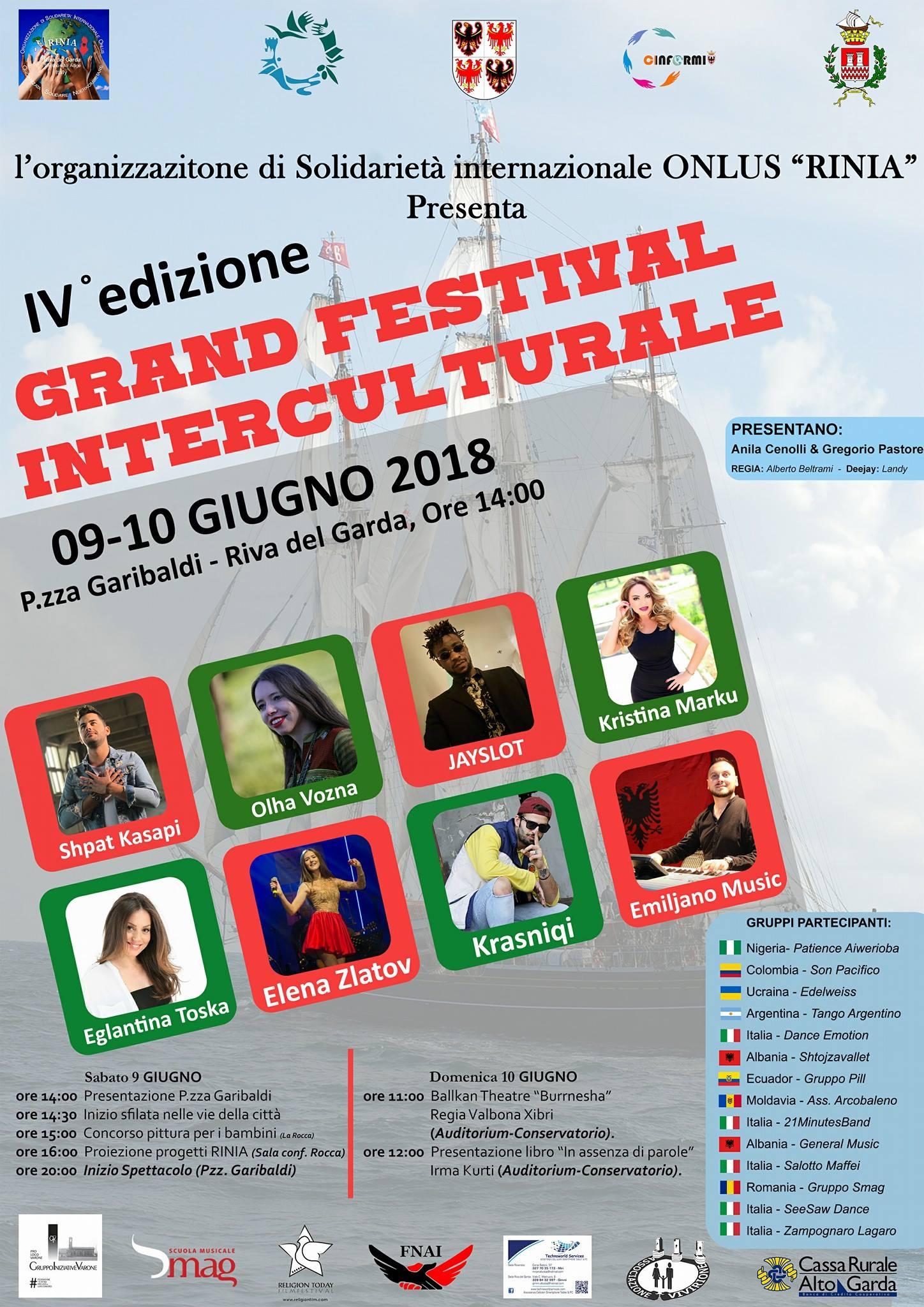 Poster Grand Festival Interculturale