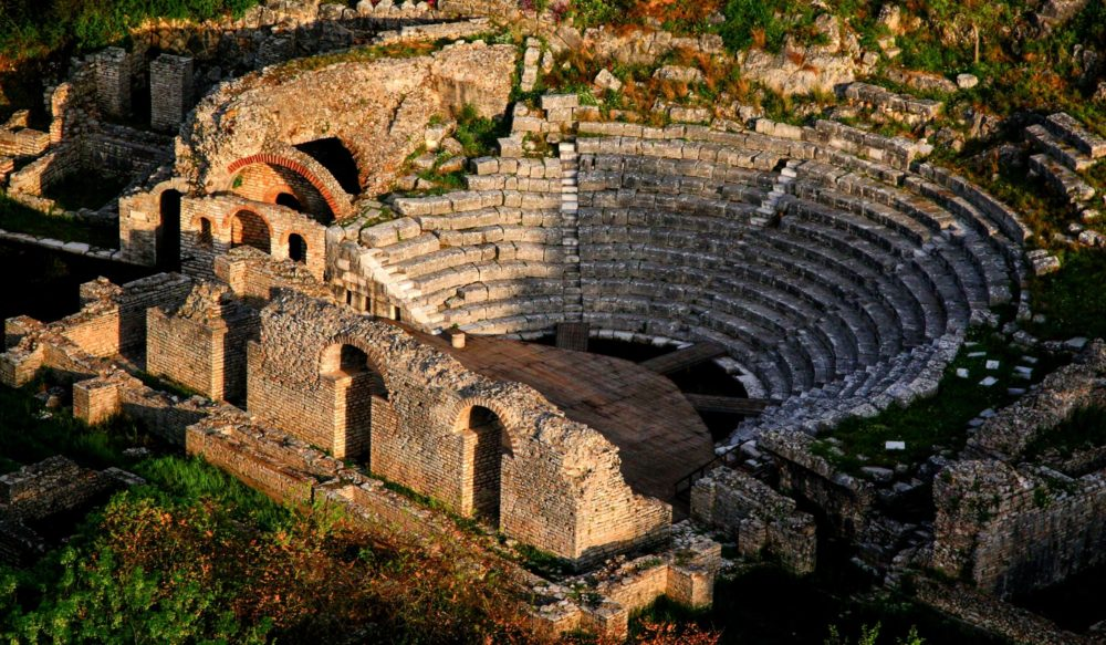 Cultural tourism in Albania, archaeological site of Butrint