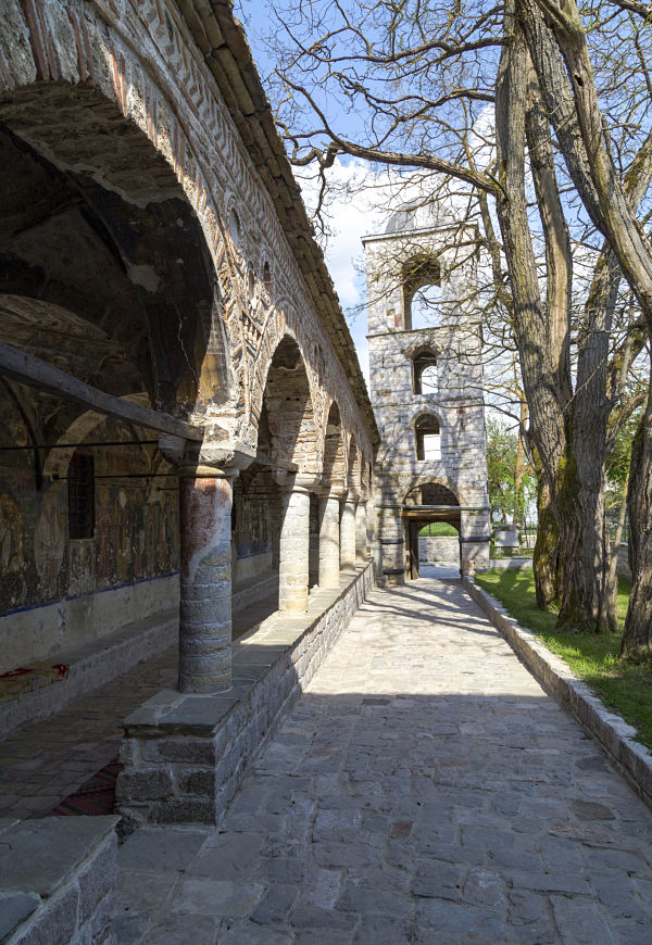 Chiesa di San Nicola, villaggio di Voskopoja, Korça, Albania