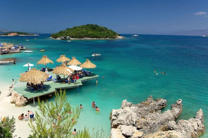 Ksamil Beach Saranda Albania
