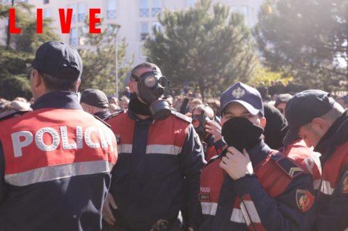 Protest Tirana 16 February 2019 4
