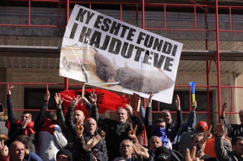 Protest Tirana 16 February 2019 5