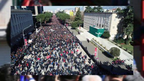 Protest Tirana