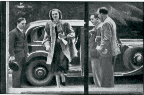 La regina Geraldine a Parigi