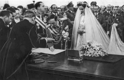 Il matrimonio con la contessa Apponyil