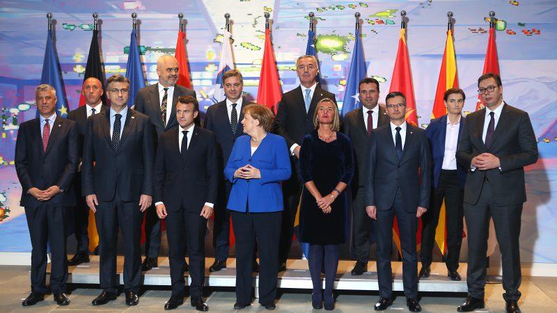 Berlino: si apre il vertice sui balcani voluto da Merkel e Macron