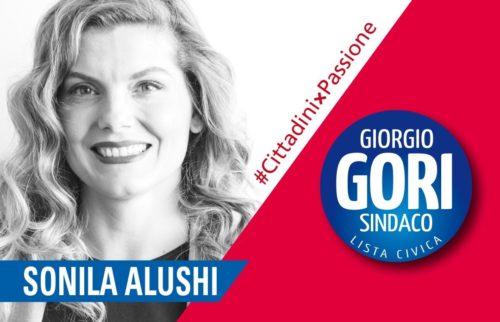 Sonila Alushi, candidata a Bergamo