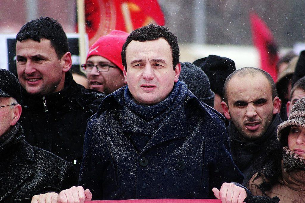 Albin Kurti, leader of Vetëvendosje