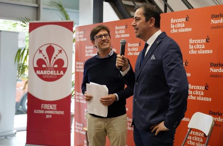 Dario Nardella Petrit Malaj