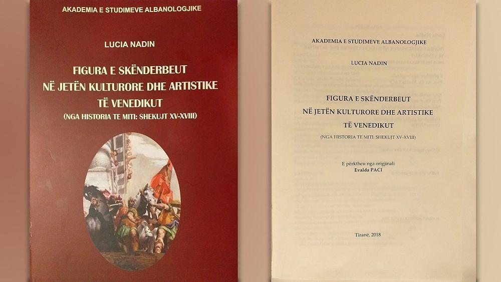 Lucia Nadin, Ikona e Skënderbeut në jetën kulturore dhe artistike të Venedikut