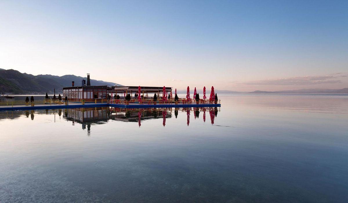 Lake Ohrid Pogradec Albania