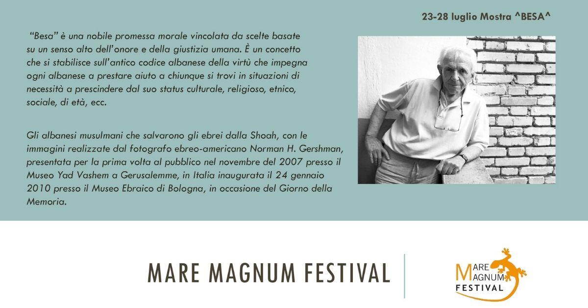 Mostra Besa Mare Magnum Festival