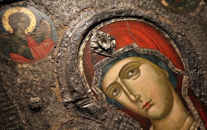 Albanian Byzantine icon