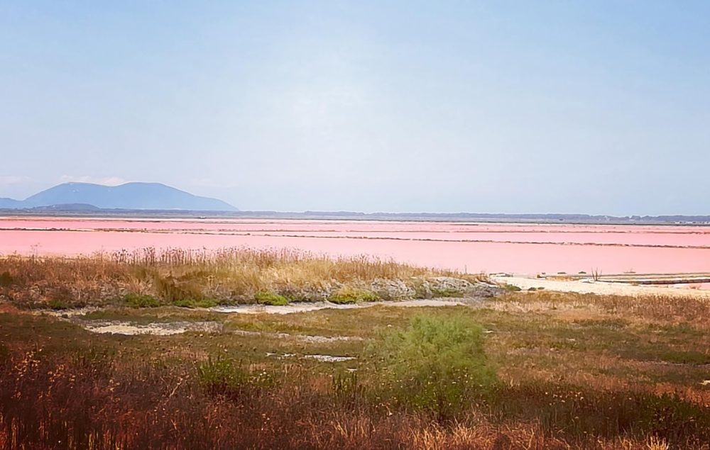A giant salt pan, Vlora