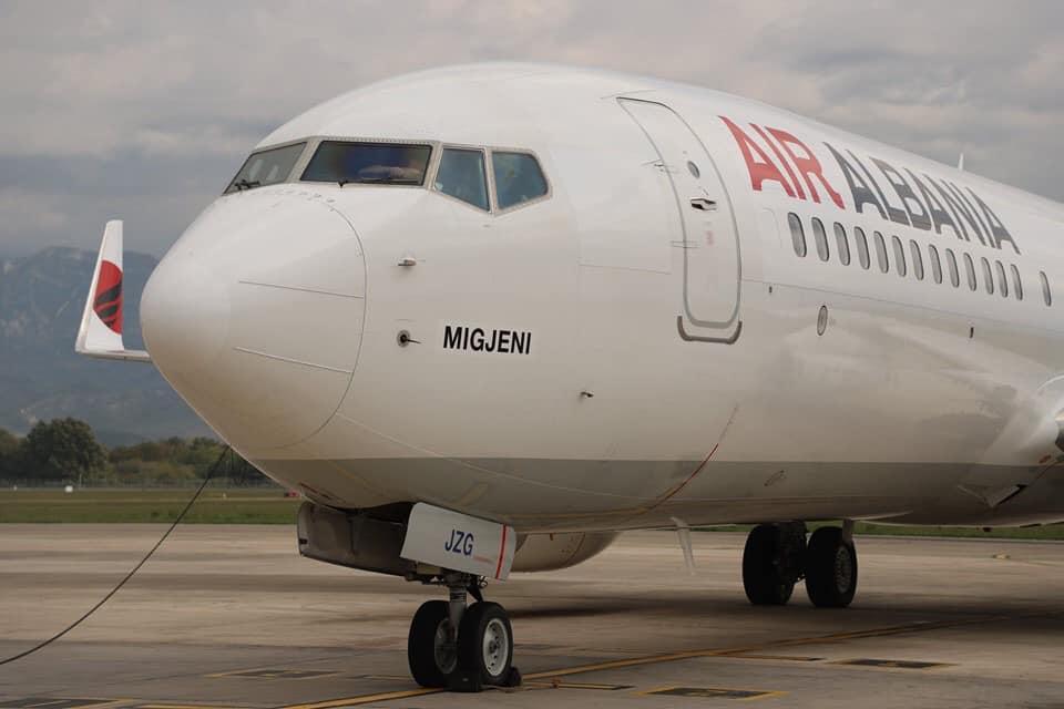 Air Albania Migjeni