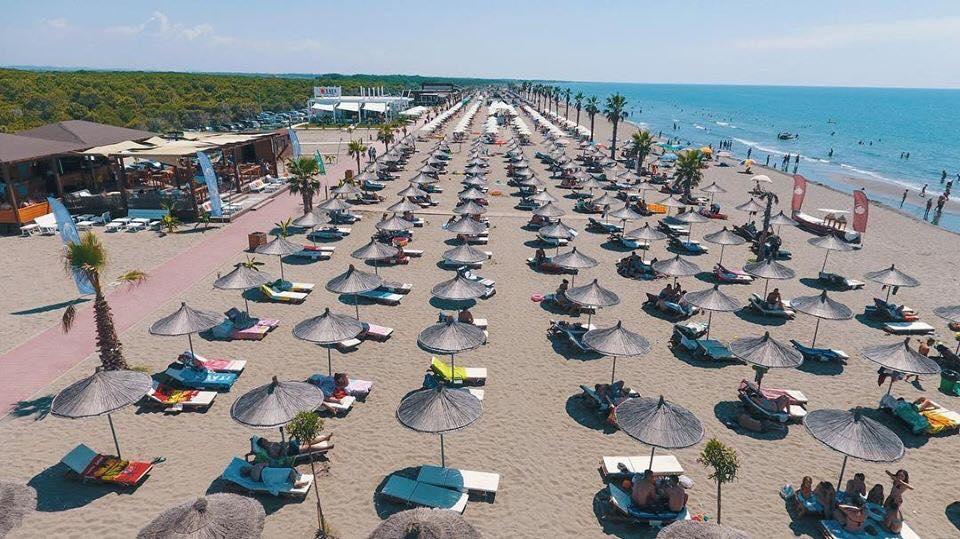 Spiaggia di Spille, Kavajë