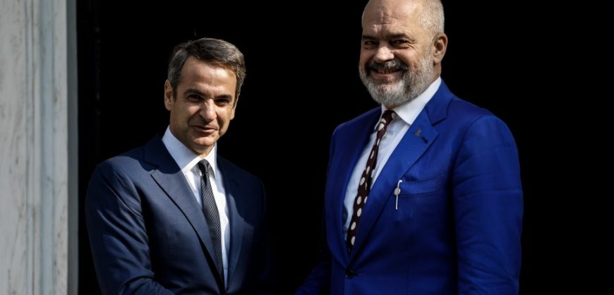 Rama meets Mitsotakis in Athens. Tomorrow appointment with Conte ...